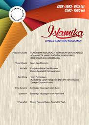 View Vol. 16 No. 2 (2016):  Islamika : Jurnal Ilmu-ilmu Keislaman